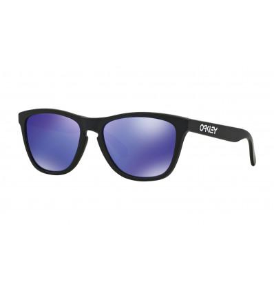 Lunettes de Soleil FROGSKINS® Oakley (Matte black - Violet iridium)
