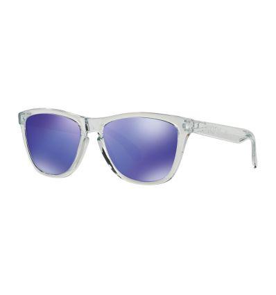 Lunettes de Soleil FROGSKINS® Oakley (Polished clear - Violet iridium)