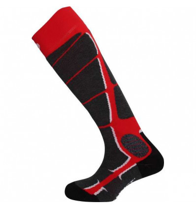 Chaussettes ski Monnet Wooly Silk (Rouge)