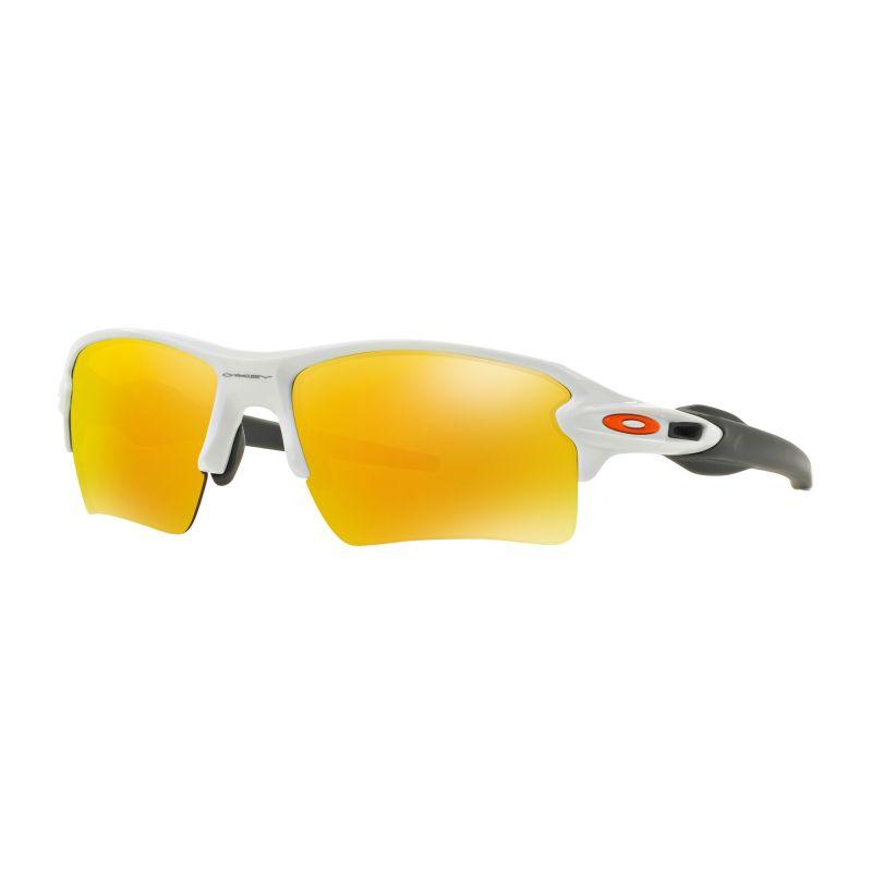 Lunettes soleil Oakley FLAK™ 2.0 XL (Polished white - Fire iridium)