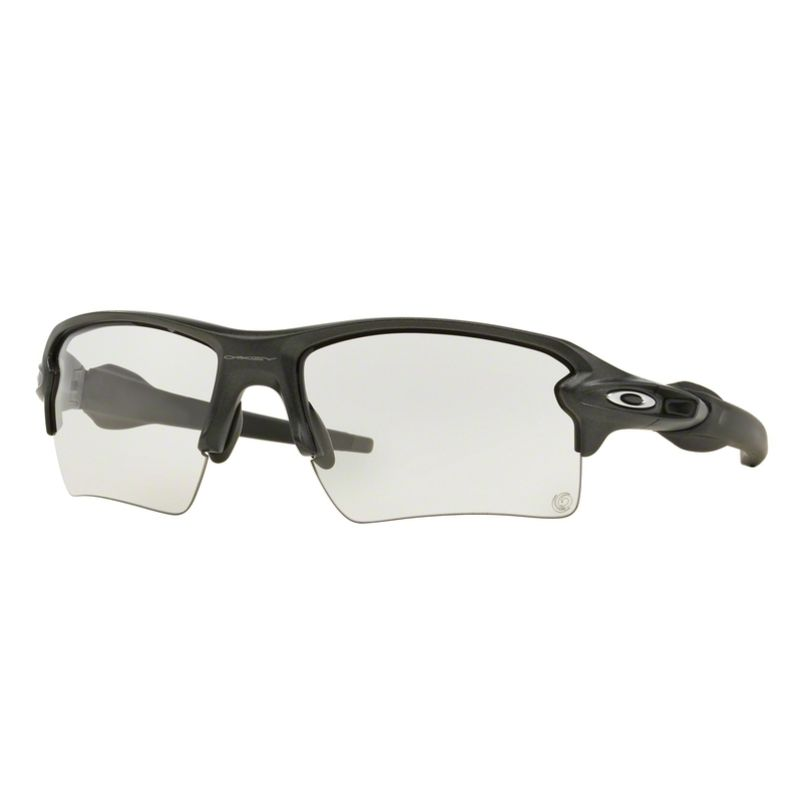 Lunettes soleil Oakley FLAK™ 2.0 XL (Steel - Clear to black photochromic)