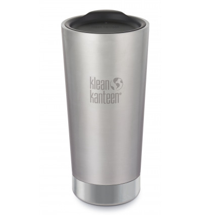Cup Klean Kanteen® Tumbler Vacuum Insulated Brushed Stainless 16oz / 0.473 l