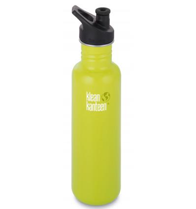 Klean Kanteen® Classic Vacuum (w/Sport Cap ) Lemon Curry Matte 27oz / 0.8l