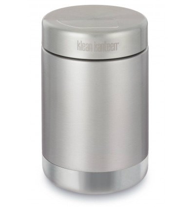 Klean Kanteen® Food Canister Vacuum Insul (w / Stainless Lid) - Brushed Stainless 16oz / 0.473 l