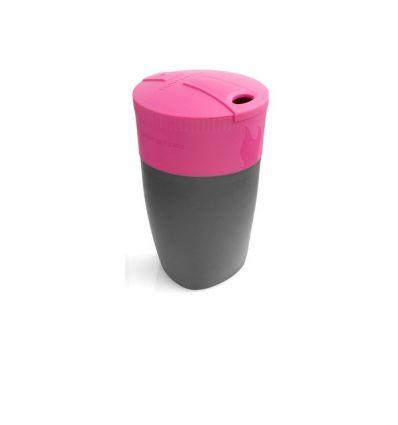 Lot de 4 pièces Pack-up-Cup Light My Fire (fuchsia/vert/cyan/lime)