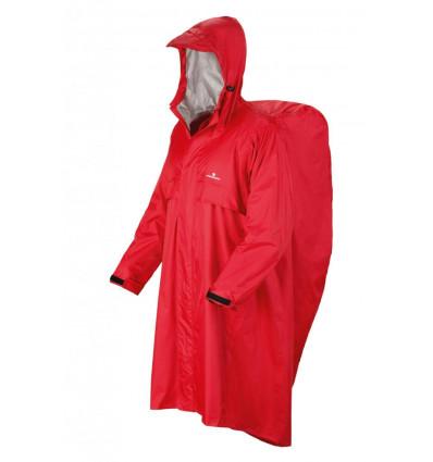 Poncho Trekker Ferrino S/M Red