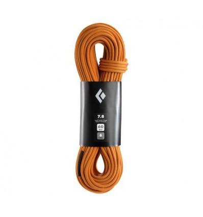 Corde 7.9 Rope - Dry Black Diamond (Orange)