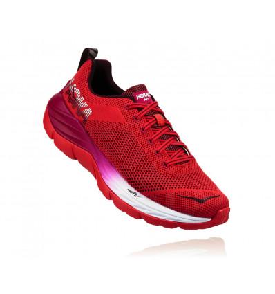 Chaussure running Mach Hoka One One (Hibiscus / Cherries Jubilee) femme