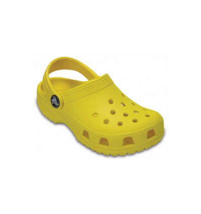 Crocs Kids' Classic Clog (Lemon) enfant