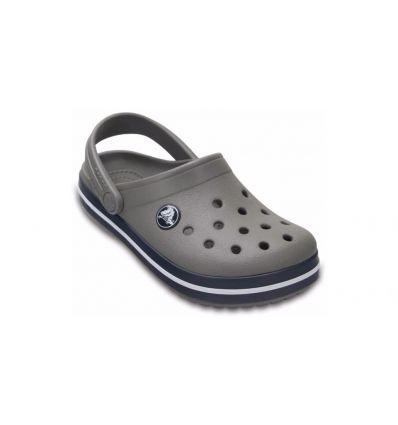 Crocs Kids' Crocband™ Clog (Smoke/navy) enfant