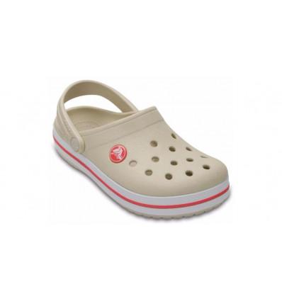 Crocs Kids' Crocband™ Clog (Stucco/melon) enfant