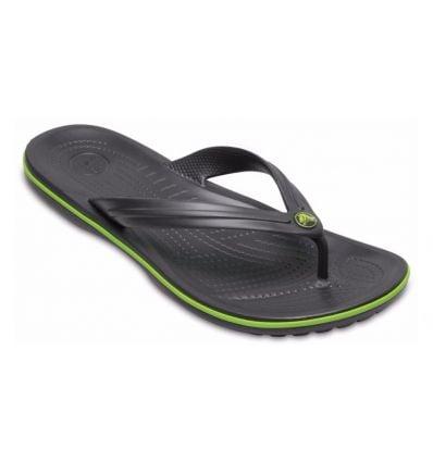 Tongs Crocs Crocband™ Flip (Graphite/volt Green)