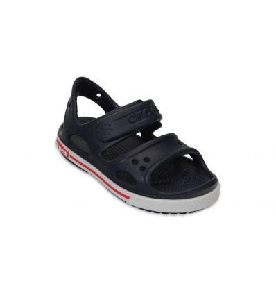Crocs Kids' Crocband™ Ii Sandal (Navy/white)
