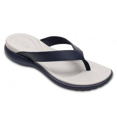 Tongs Crocs Women's Capri V Flip (Navy/pearl White)