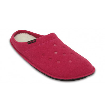 Crocs Classic Slipper (Candy Pink/oatmeal)