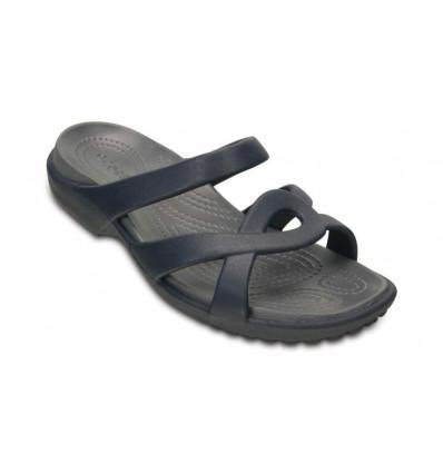 Sandales Crocs Women's Meleen Twist Sandal (Navy/storm)