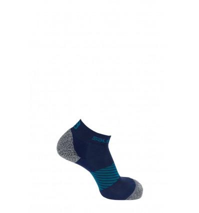 Chaussette SPEED 2-Pack Salomon Dress Blue/Black