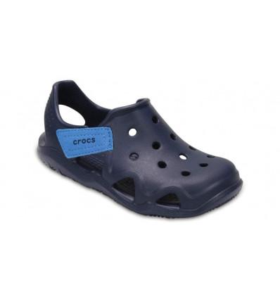 Crocs Kids' Swiftwater Wave (Navy)