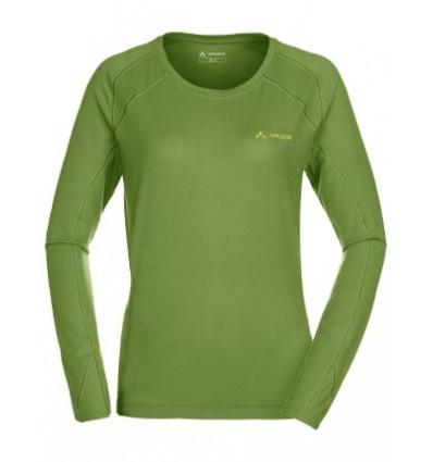 T-shirt manches longues Women's Signpost Ls Shirt - Vaude (Vert poivre)