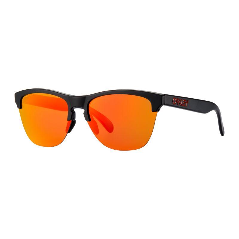 Lunettes soleil Oakley Frogskins Lite (Matte black - Prizm ruby)