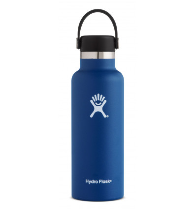 Gourde 18 oz Standard Mouth Hydro Flask (Cobalt)