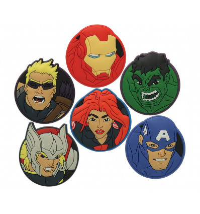 Crocs Marvels Avengers Heroes 6pack (No Color Applicable)
