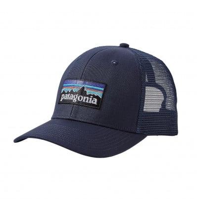 P-6 Logo Trucker Hat Patagonia (navy Blue W/navy Blue)