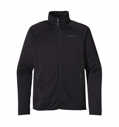 M's R1 Full-zip Jkt Patagonia (black)