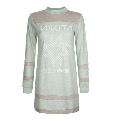Sweat-Robe Pyxis Crew Nikita (Silt Green)
