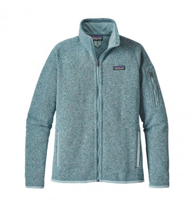W's Better Sweater Jkt Patagonia (tubular Blue W/crevasse Blue)