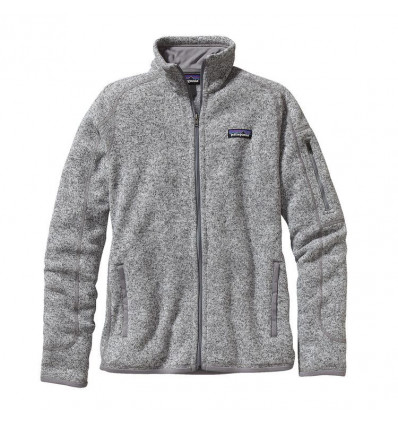 W's Better Sweater Jkt Patagonia (birch White)