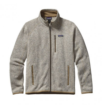 M's Better Sweater Jkt Patagonia (bleached Stone)