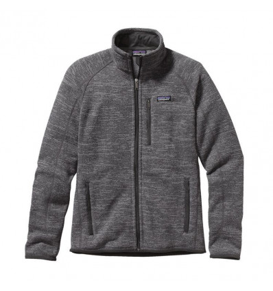 M's Better Sweater Jkt Patagonia (nickel W/forge Grey)