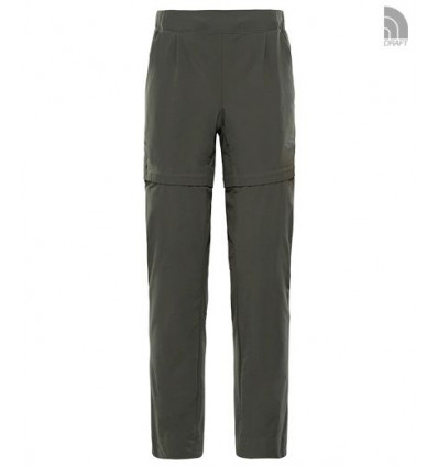 Pantalon Inlux Convertible - The North Face (Grape Leaf) femme