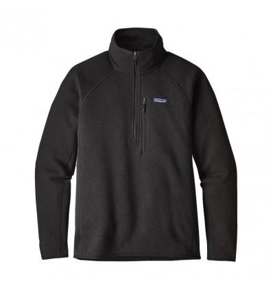 M's Performance Better Sweater 1/4 Zip Patagonia (black)