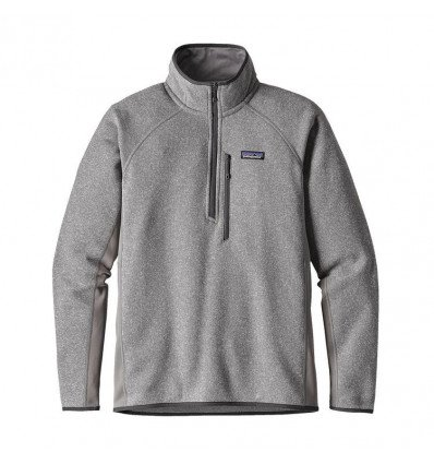 M's Performance Better Sweater 1/4 Zip Patagonia (feather Grey)
