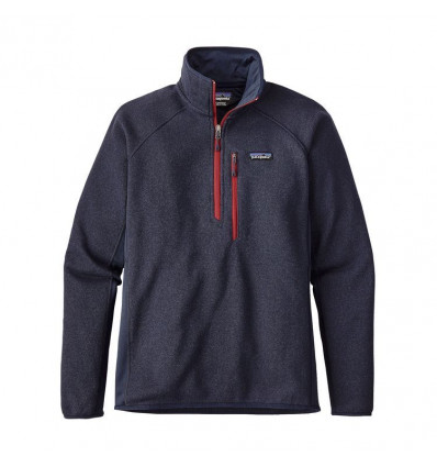 M's Performance Better Sweater 1/4 Zip Patagonia (navy Blue)