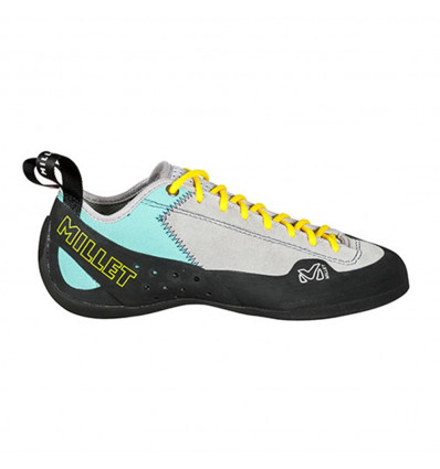 Chausson escalade Ld Rock Up Millet ( Metal Grey/pool Blue ) femme