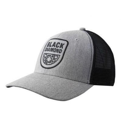 Casquette Black Diamond Trucker (Heathered aluminium black)