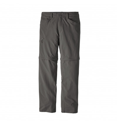 Pantalon Quandary Convertible - Patagonia (Forge grey)