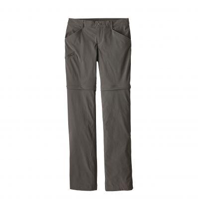 Pantalon Quandary Convertible - Patagonia (Forge grey) femme