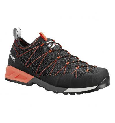Chaussure randonnée Dolomite Crodarossa (Black/fluo red)
