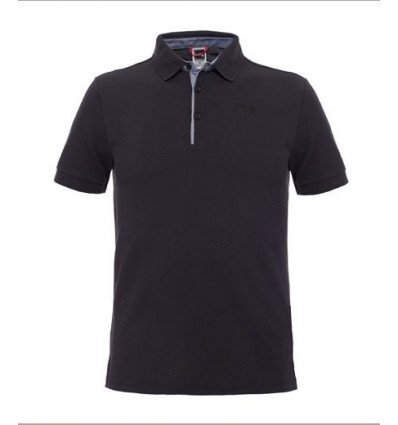 Polo Premium Piquet - The North Face (Black)