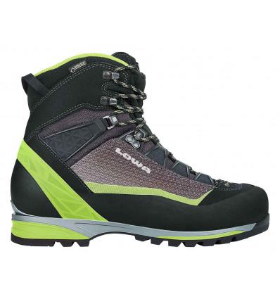Chaussure Alpinisme Lowa Alpine Pro GTX (black/lime)