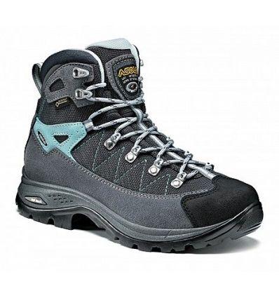 Hiking shoe Asolo Finder Gv Ml (Grigio / gunmetal / pool) woman