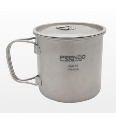 Frendo Mug Simple Paroi Titane