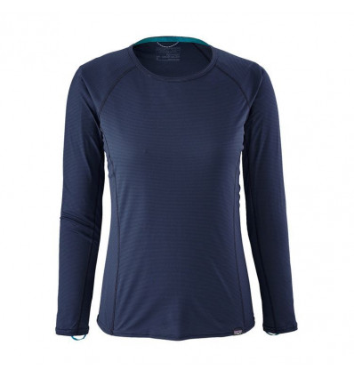 T-shirt manches longues Capilene Lightweight Crew - Patagonia (Navy blue) femme