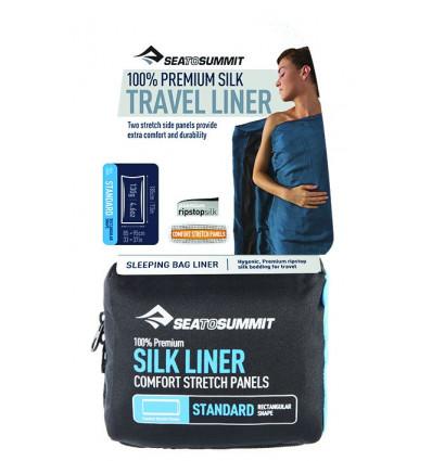 Drap de sac soie stretch long Sea to Summit