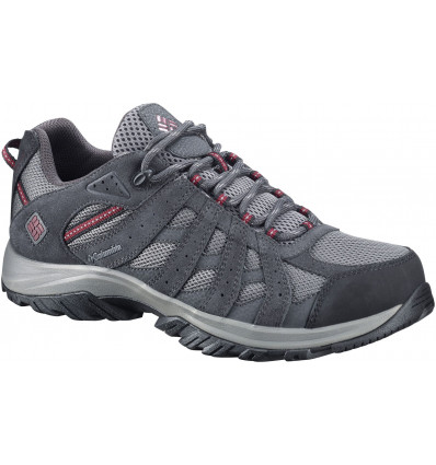 Chaussures en cuir Canyon Point Waterproof Columbia (charcoal, Red Element)