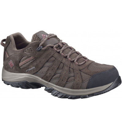 Chaussures en cuir Canyon Point Waterproof Columbia (Mud, Red Element)